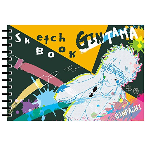 ヒサゴ 銀魂 図案スケッチブック B6サイズ/坂田銀時 HG6951