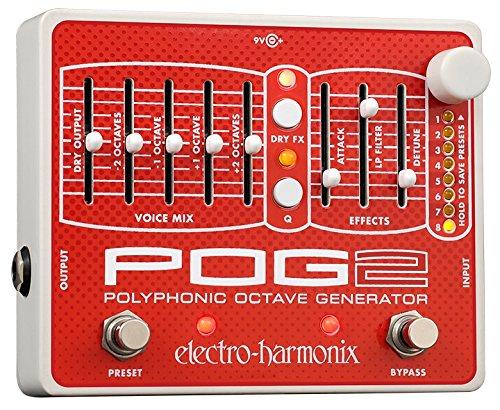 electro-harmonix エレクトロハーモニクス エフェクター ポリフォニックオクターブジェネレーター POG2 【国内正規品】 【徹底紹介】MIYAVIのエフェクターボード・機材を解析!ツマミ・ノブの位置も分かる!ギターを支える足元の機材の数々を紹介! #MIYAVI #ギター #エフェクター【金額一覧】