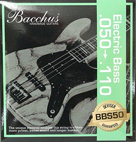 BACCHUS EB Strings BBS50 50-110 エレキベース弦 【560円~】安いベース弦特集! 値段を気にせず常に新しい弦で練習できるおすすめ格安・激安ベース弦!レビュー・感想【4弦・5弦・6弦・コーティング弦】