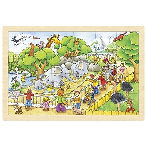 知育玩具の代表パズルを4歳の女の子にプレゼント