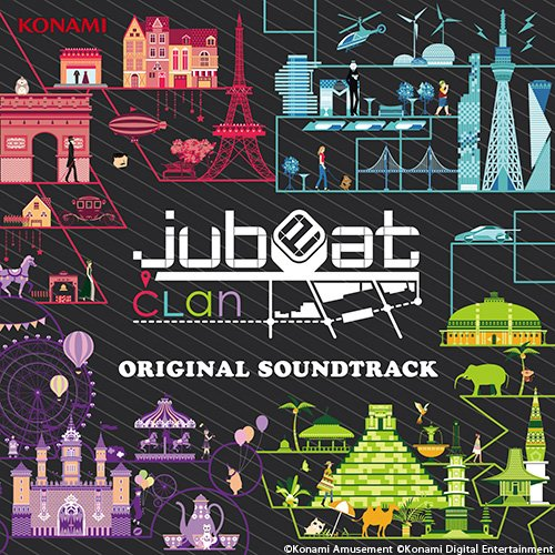 jubeat clan ORIGINAL SOUNDTRACK