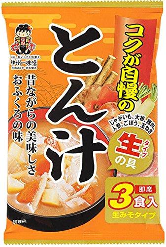 神州一 コクが自慢のとん汁 3食×12個