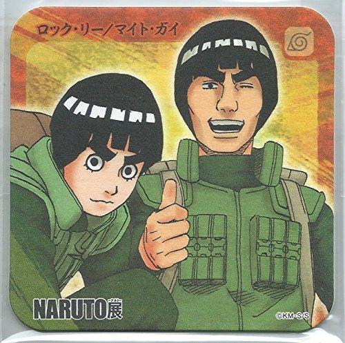 NARUTO NARUTO展限定 コースター ロック・リー/マイト・ガイ 単品