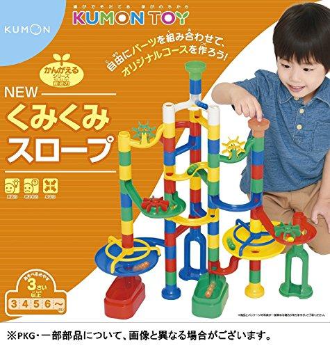 NEW くみくみスロープは4歳の女の子が貰って嬉しい知育玩具