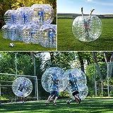 インフレータブルバンパーバブルサッカーボール直径1.2M 4FT / 1.5M 5FT Humanハムスターボール、大人や子供