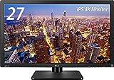 LG モニター ディスプレイ 27MU67-B 27インチ/4K(3840×2160)/IPS 非光沢/HDMI×2、DisplayPort/高さ調節、ピボット対応