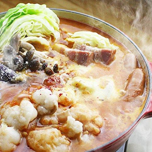 チーズとトマトのローマ風もつ鍋セット (国産牛もつ300g) (2~3人前)(シメはパスタ)(ギフト 贈り物にも)