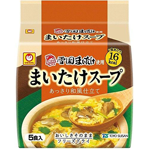 マルちゃん まいたけスープ5P