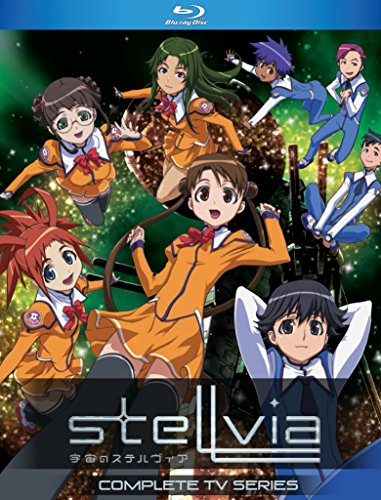 Stellvia Complete Series Blu-Ray(宇宙のステルヴィア 全26話)