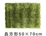 ふわふわした「芝生」の感触 MERCROS(メルクロス)グラスラグ50×70cm