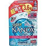 トップ スーパーナノックス 洗濯洗剤 液体 詰替超特大 1300g