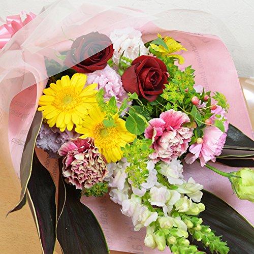[エルフルール]店長おまかせサービス花束を寿退社をする後輩に贈る