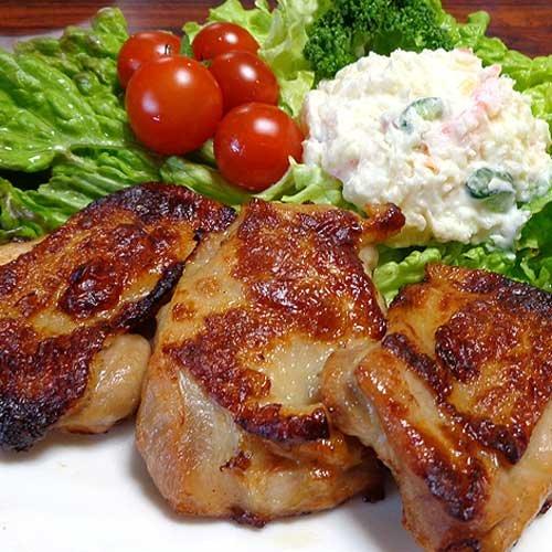 鶏肉とキノコのステーキ