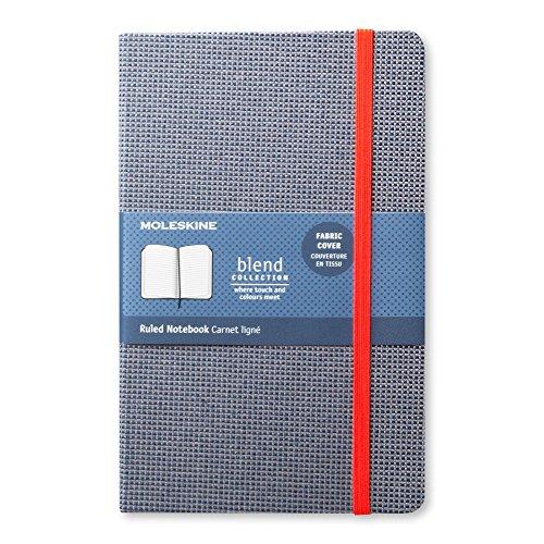 モレスキン ノート 限定版 ブレンドコレクション 横罫 ラージ ブルー LCBDQP060B