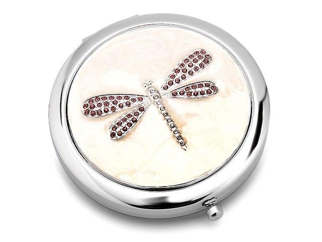 Sophia Damen Libelle Kompaktspiegel Versilbert