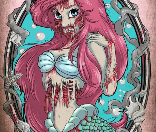 Not Sexy Disney Princesses Are Zombies