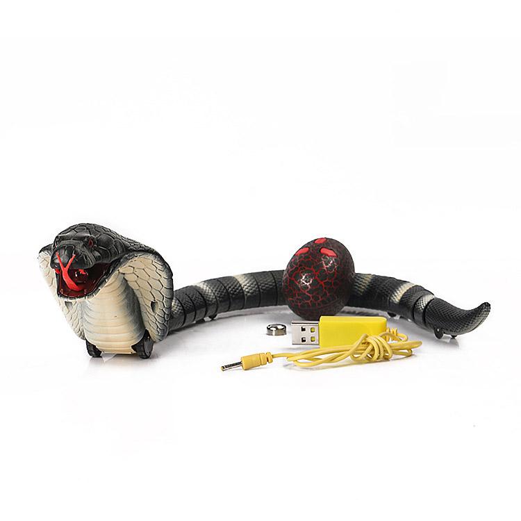 創意小物館 整人益智紅外線操控眼鏡蛇玩具
