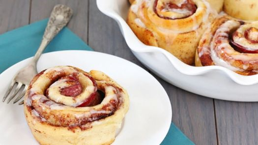 Brunchaholics Bacon Cinnamon Rolls