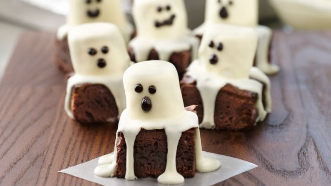 Spooky Boo Brownies Recipe by Betty Crocker