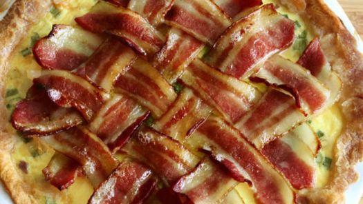 maple bacon pie brunch