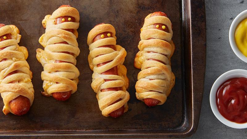 Crescent Mummy Dogs Recipe Pillsbury Com
