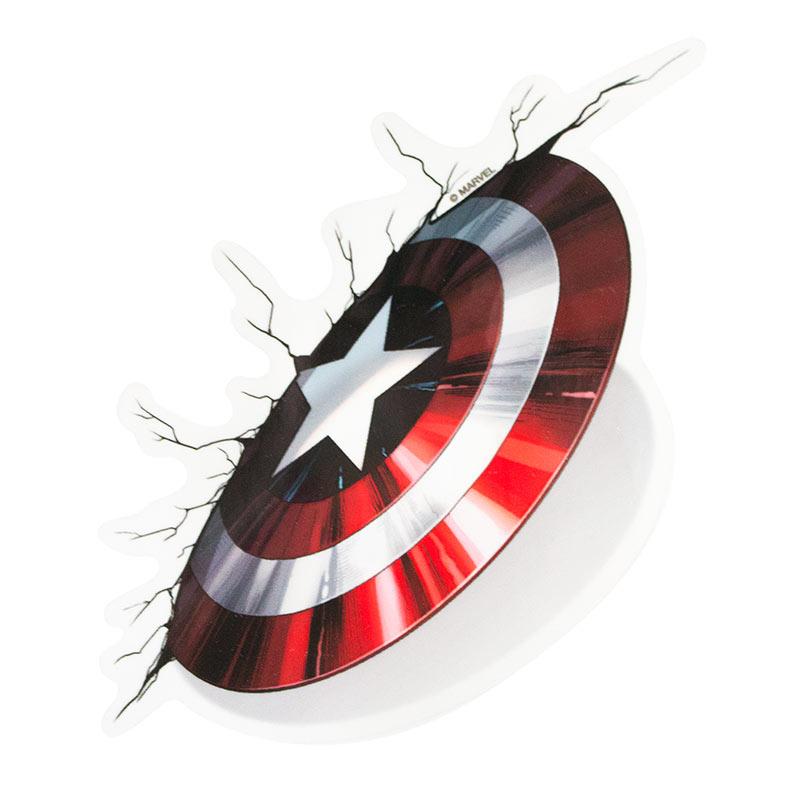 Captain America Comic Car Window Decal