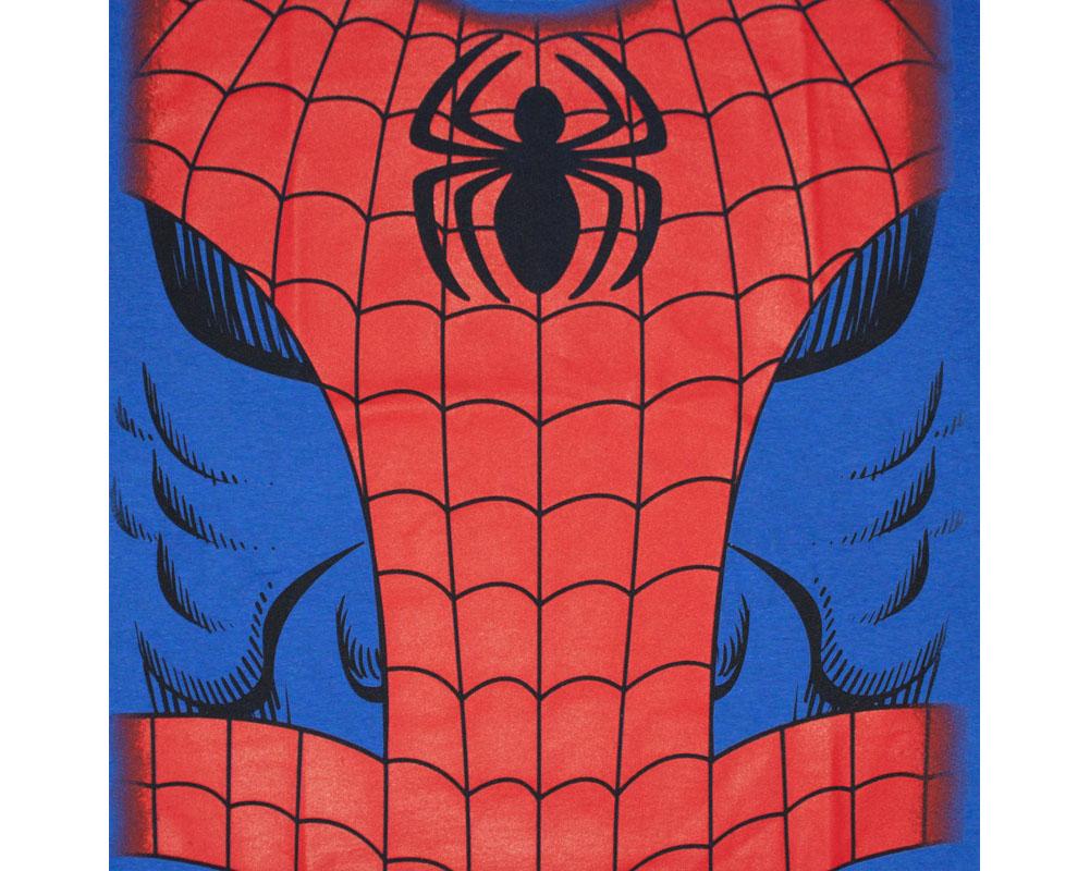 Spiderman Costume Halloween Blue Graphic TShirt