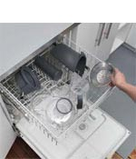Easy to clean dishwasher safe parts