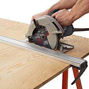 Circular Saw and Guide.