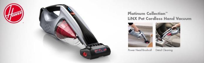 Hoover Platinum Collection LiNX Cordless Pet Handheld