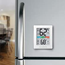 digital thermometer, digital hygrometer