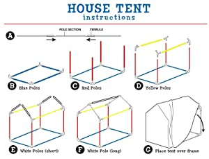 play, house, tent, kids