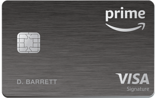 Amazon Prime Rewards Visa Card offers 5% cash back on Amazon purchases.
