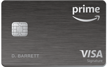The Amazon Prime Visa Rewards card gives 5% cash back on Amazon and Whole Foods purchases.