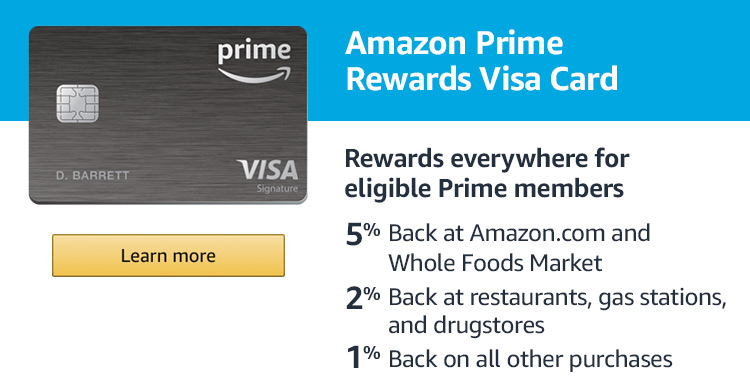 Image result for Amazon Prime Credit Card