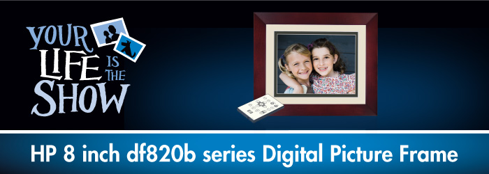Hp 8 Digital Picture Frame Df820b4 Lajulakorg