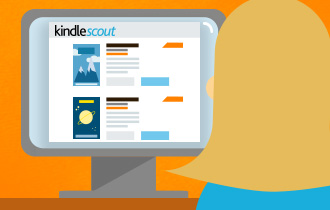 Kindle Scout How It Works -- Amazon illustration