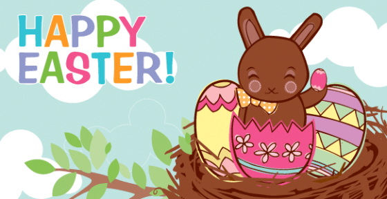 Amazon Gift Card - E-mail - Happy Easter (Chocolate Bunny)