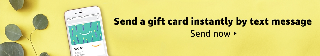 Send a gift card instantly by text message