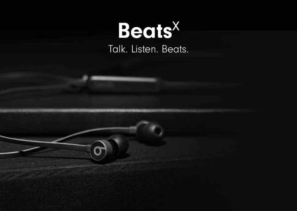 BeatsX. Talk. Listed. Beats.