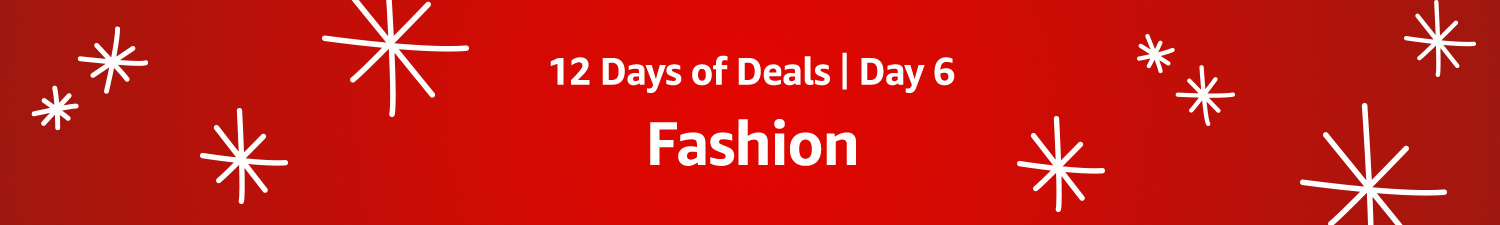 12 Days of Deals: Day 6: Fashion