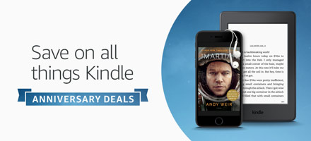 Kindle 10th Anniversary | Save on all things Kindle