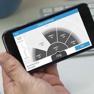 Sensores de movimento personalizados