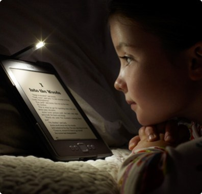 Read Kindle easily in the dark