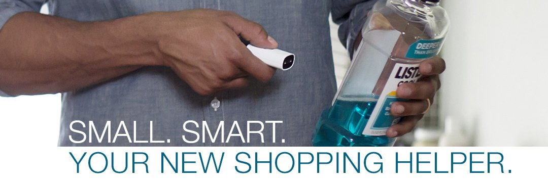 Small. Smart. Your new shopping helper