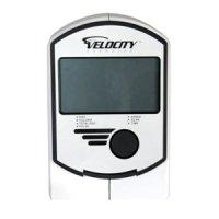 Velocity Exercise CHB-RGK862R Dual Motion Recumbent Bike LCD Display