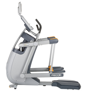 The Precor AMT100i with optional viewing screen