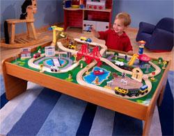 Kidkraft Ride Around Town Train Table and Set