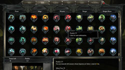Abilities broken down by category in Divinity II: Ego Draconis