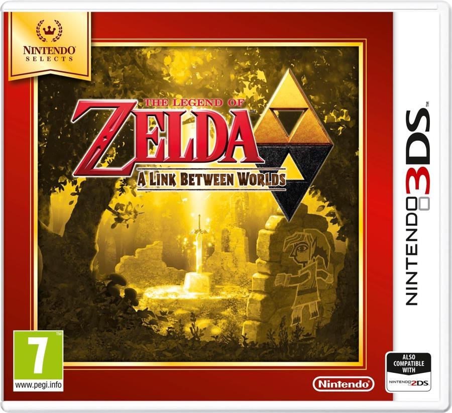 Image result for A Link Between Worlds Nintendo Selects
